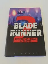 Blade Runner 2: The Edge of Human by K.W. Jeter Hardcover Book