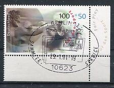 Bund Mi-Nr 2094  Ecke 4 (100+50) -Sport u.Frieden-  SST Berlin 2000