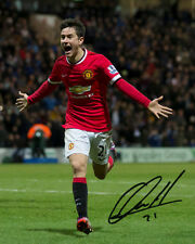 ANDER HERRERA (MANCHESTER UNITED) - 10X8 PRE PRINTED LAB QUALITY PHOTO PRINT