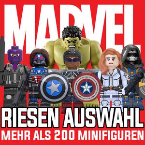 MARVEL Minifiguren Avengers  Spider-Man Hulk Iron Man Captain America Deadpool