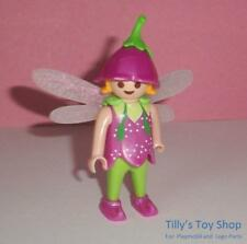 Playmobil      Magic Castle - Fairy Girl  with a Pink Dress, Hat, & Wings- NEW