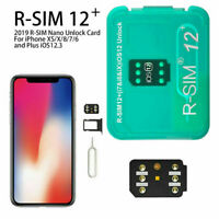 RSIM 12+ Unlock Sim Card for iPhone XS Max XR X 8 7 6s 6 Plus iOS 12.3.1 LTE R