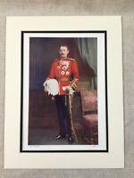 1900 Antico Militare Stampa Ritratto Generale Sir Archibald Hunter Boero Guerra