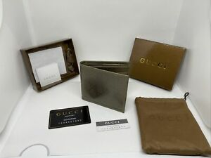 Gucci Men's Wallet Gold/Brown  F401 R