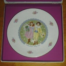 "New Listing1976 Royal Doulton ""Valentine's Day� Collector's Plate w/box"