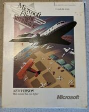 Microsoft Flight Simulator (v4.0) for PC / MS-DOS (Microsoft, 1989) Vintage 5.25