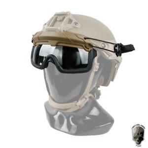 TMC Schutzbrille SF QD Anti-Fog Staub ANSI Z87.1 Für OC Stil Helm Schützen Camo