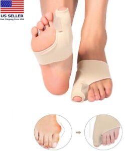 Big Toe Bunion Splint Straightener Corrector Foot Pain Relief Hallux Valgus US