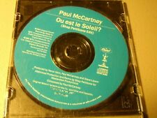 Paul McCartney - Ou est le Soleil? Shep Pettibone Edit PROMO CD single