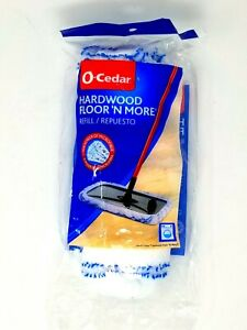 O-Cedar Hardwood Floor 'N More Microfiber Mop Refill