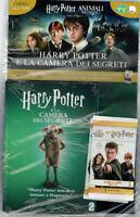 DVD HARRY POTTER ANIMALI FANTASTICI - LA CAMERA DEI SEGRETI - 2° USCITA