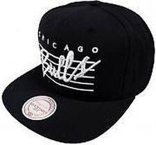 Chapeaux noirs Mitchell & Ness pour homme en 100% coton