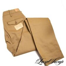 NWT $290 RRL Double RL Ralph Lauren Tan Officers Chino Military Field Pants 29