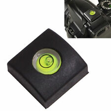 2X Hot Shoe Bubble Spirit Level  Cap Cover For Canon Casio Fuji Samsung '