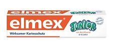 Elmex Junior Children's toothpaste 75ml-Made in Germany