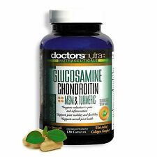 Glucosamine, Chondroitin, MSM & Turmeric - Joint Pain Relief Supplement - Best