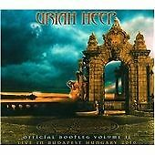 URIAH HEEP OFFICIAL BOOTLEG VOLUME II 2 CD LIVE IN BUDAPEST BRAND NEW UNPLAYED