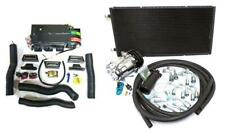 Gearhead AC Heat Defrost Mini Air Conditioning Kit w/ Compressor Hoses Fittings