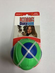 KONG Durasoft Ball Dog Toy NIP Large Squeak Toy Floats For More Fun