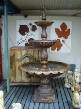 Cast Iron LIsbon Garden Water Fountain - Outdoor Water Feature