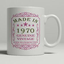 50th birthday present mug gift born 1970 idea men women ladies dad mum happy 50