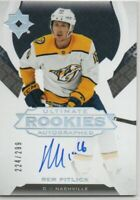 19-20 ULTIMATE COLLECTION ULTIMATE ROOKIES AUTO REM PITLICK /299
