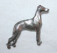 WHIPPET Dog Fine PEWTER PIN Jewelry Art USA Made