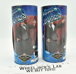 """Jake & Elwood 9"""" The Blues Brothers MISB 1997 Exclusive Premiere Action Figures"""