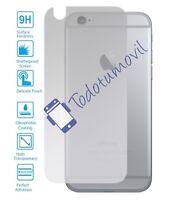 Protector de Pantalla Cristal Templado Vidrio 9H para Apple Iphone 6 I6 Trasero