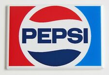 Pepsi Logo FRIDGE MAGNET (2 x 3 inches) soda can label sign bottle