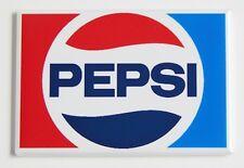 Pepsi Logo FRIDGE MAGNET (2 x 3 inches) soda can label sign bottle