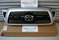 Toyota Tacoma Sport Silver 1E7 Painted Honeycomb Grille Genuine OEM OE