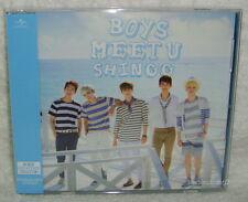 SHINee Boys Meet U Taiwan CD+DVD+16P+Trading Card [Japanese Lan]