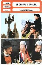 LE CHEVAL D'ORGUEIL - Dufilho,Cluzet (Fiche Cinéma) 1980 - The Horse of Pride