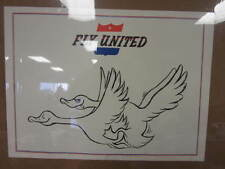 vintage Fly United comical 60's parody Poster Goosed 10333