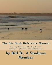 The Big Book Reference Manual - An AA Concordance