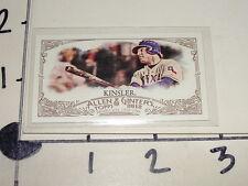 Ian Kinsler / 2012 Allen & Ginter #203 - Red A&G Mini SP#22/25 - Texas Rangers