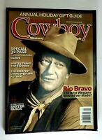 AMERICAN COWBOY MAGAZINE  Dec/Jan2009 John Wayne Cover Annual Holiday Guide!