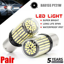 BAU15S 1156 3014 144SMD Turn Signal Light Canbus No Error Led Bulb Fog Light US~