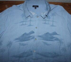Men's    Croft & Barrow   Tropical   button up    Shirt    X X Large