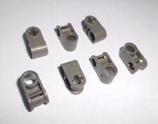 Lego Technic (6536) 7 Kreuz/Pin Verbinder, in alt dunkelgrau aus 8002 8011 8516