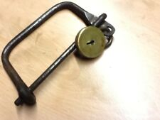 ww11 British kit - mess bag lock - handle wasla lock no key post ww11