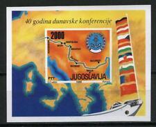 Joegoslavië 1988 blok 33 40 jaar Donauconferentie MNH cat waarde € 4