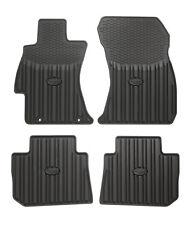 OEM Subaru 12-16 WRX J501SVA200 All Weather Floor Mat Set (replaces J501SFJ000)
