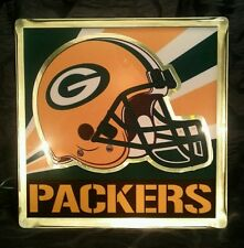 Lighted Greenbay Packers Glass Block Light~ Home Decor~Gift~Lamp