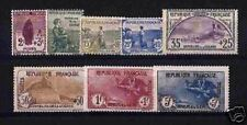 "FRANCE STAMP 1917-18 Y&T 148 / 155 "" SERIE ORPHELINS 8 TIMBRES "" NEUFS xx TTB"