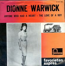 7inch DIONNE WARWICK anyone who had a heart HOLLAND favorieten expres WOC