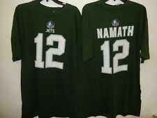 91002 MENS New York Jets JOE NAMATH Hall Of Fame Football Jersey SHIRT New