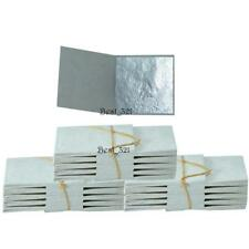 300 Edible Pure Silver Leaf Leaves Sheets 99.9% 24 Carat Food Decoration