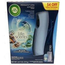Air Wick Freshmatic Ultra Automatic Spray + Refill, Turquoise Oasis, 1 Set